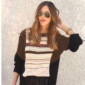 Anthropologie sweater size S